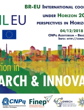 'BR-EU International cooperation in STI under Horizon 2020 and perspectives under Horizon Europe'