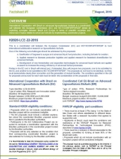 INCOBRA Factsheet#1 - H2020-LCE-22-2016