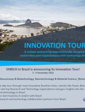 ENRICH Brazil promove tour de inovação pelo Brasil para empresas europeias
